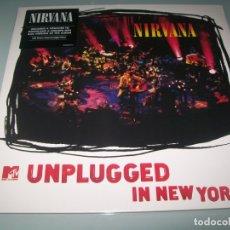 Discos de vinilo: NIRVANA - UNPLUGGED IN NEW YORK - MTV ..LP DE 1994 - NUEVO PRECINTADO - REEDICION. Lote 178626948