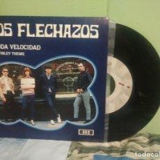 Discos de vinilo: LOS FLECHAZOS A TODA VELOCIDAD SINGLE SPAIN 1992 PEPETO TOP. Lote 178627330