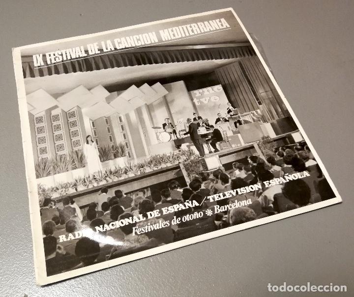 NUMULITE LP071 IX FESTIVAL DE LA CANCIÓN MEDITERRÁNEA RADIO NACIONAL ESPAÑA OTOÑO BARCELONA (Música - Discos - LP Vinilo - Otros Festivales de la Canción)