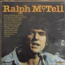 Discos de vinilo: RALPH MCTELL. MISMO TÍTULO. PICKWICK RECORDS, SHM 962. ENGLAND, 1968.. Lote 178639260