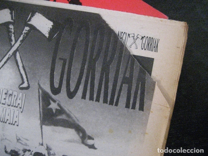 Discos de vinilo: NEGU GORRIAK Manu Chao etc Gora Herria mini LP 1991 CON PERIODICO COMO NUEVO - Foto 5 - 178635287