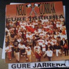 Discos de vinilo: NEGU GORRIAK LP GURE JARRERA ESAN OZENKI RECORDS ORIGINAL ESPAÑA 1991 + LIBRETO. Lote 178635848
