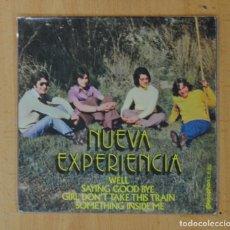 Discos de vinilo: NUEVA EXPERIENCIA - WELL + 3 - EP. Lote 178640660