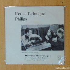 Discos de vinil: H. BADINGS ET J.W. DE BRUYN - MUSIQUE ELECTRONIQUE - EP. Lote 178640723