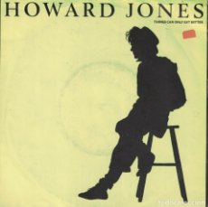 Discos de vinilo: HOWARD JONES - THINGS CAN ONLY GET BETTER / WHY LOOK FOR THE KEY (SINGLE, WEA RECORDS 1989). Lote 178644050