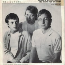 Discos de vinilo: EVERYBODY'S GOT TO LEARN SOMETIME / DUMB WAITERS (SINGLE ESPAÑOL, RIALTO 1981). Lote 178647172