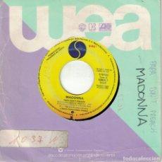 Discos de vinilo: MADONNA - PAPA DON'T PREACH / AIN'T NO BIG DEAL (SINGLE PROMO ESPAÑOL, SIRE RECORDS 1986). Lote 178650337