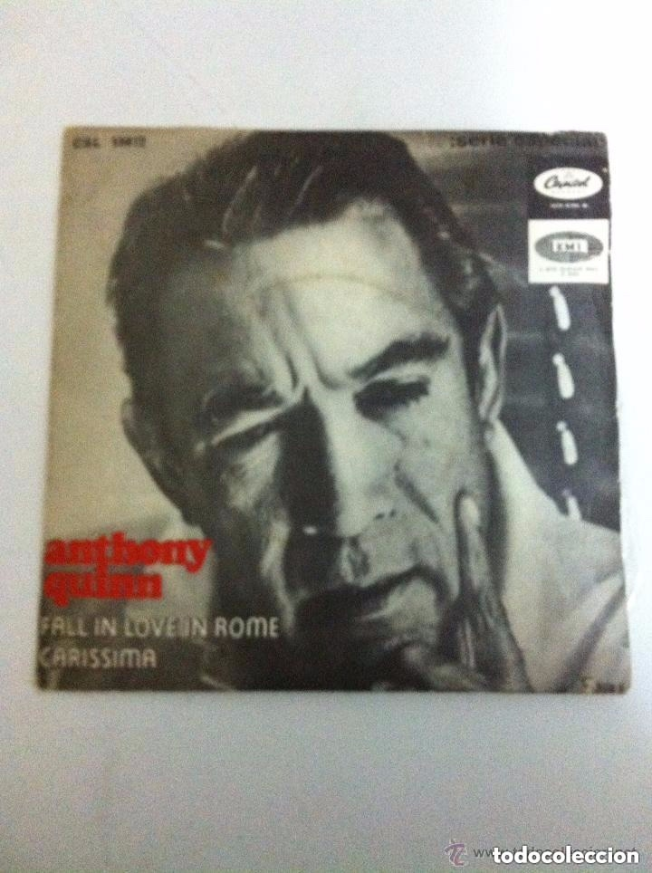 ANTHONY QUINN - FALL IN LOVE IN ROME (Música - Discos de Vinilo - EPs - Cantautores Extranjeros)