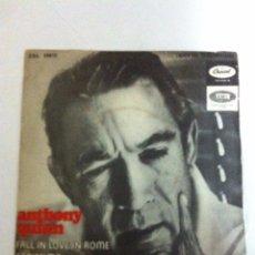 Discos de vinilo: ANTHONY QUINN - FALL IN LOVE IN ROME. Lote 178652485