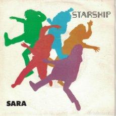 Discos de vinilo: STARSHIP - SARA / HEARTS OF THE WORLD (SINGLE PROMO ESPAÑOL, GRUNT RECORDS 1985). Lote 178653393