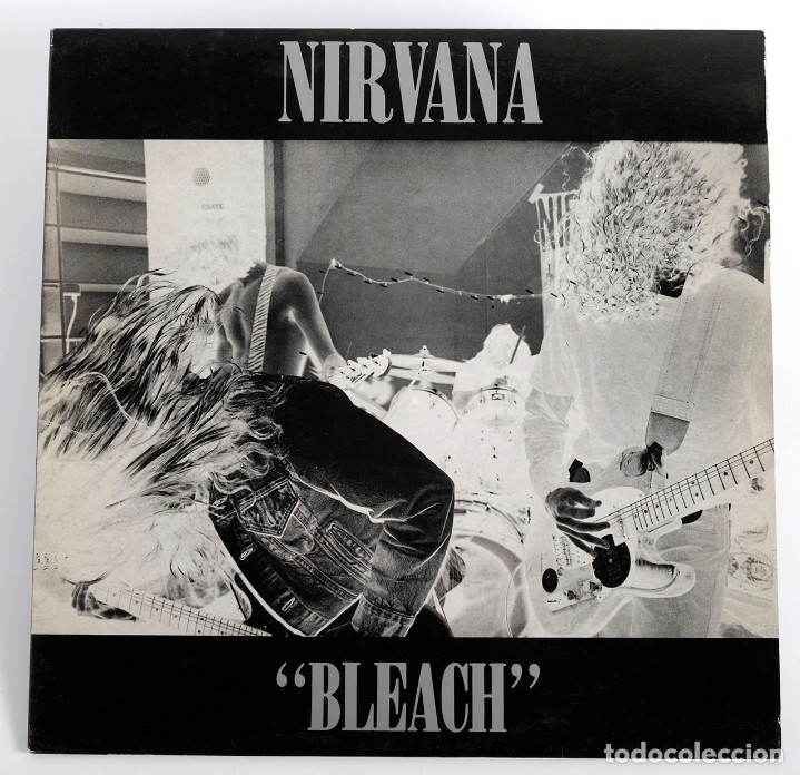 NIRVANA LP BLEACH. TUPELO LP6. MADE IN ENGLAND. 1989 (Música - Discos - LP Vinilo - Pop - Rock Extranjero de los 90 a la actualidad)