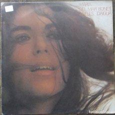 Discos de vinilo: MARÍA DEL MAR BONET. ANELLS D'AIGUA. ARIOLA, I-206626. ESPAÑA, 1985.. Lote 178658560