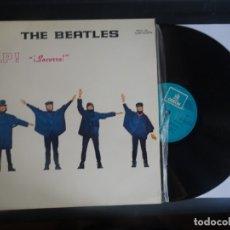 Discos de vinilo: LP, THE BEATLES , HELP , ODEON, 1965 , VER FOTOS. Lote 178659203