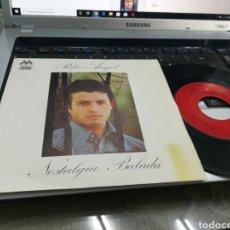 Discos de vinilo: PEDRO ANGEL SINGLE NOSTALGIA 1972. Lote 178662842