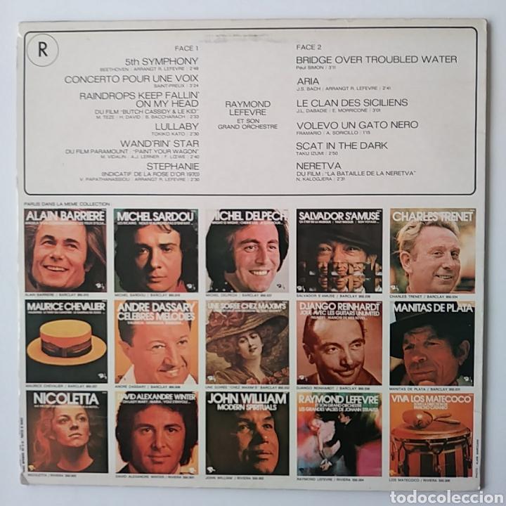 Discos de vinilo: RAYMOND LEFEVRE & SON GRAND ORCHESTRE.CONCERTO POUR UNE VOIX/ FRANCE. - Foto 2 - 178663030