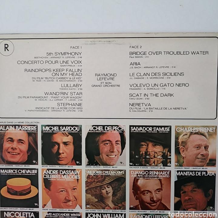 Discos de vinilo: RAYMOND LEFEVRE & SON GRAND ORCHESTRE.CONCERTO POUR UNE VOIX/ FRANCE. - Foto 3 - 178663030