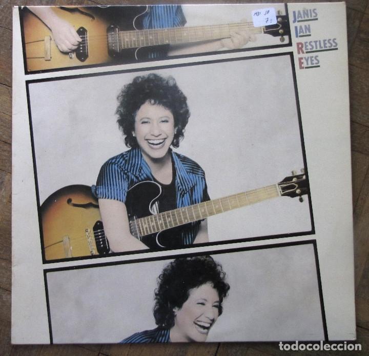 JANIS IAN. RESTLESS EYES. CBS, S 85040. ESPAÑA, 1981. FUNDA VG++. DISCO VG++. (Música - Discos - LP Vinilo - Country y Folk)