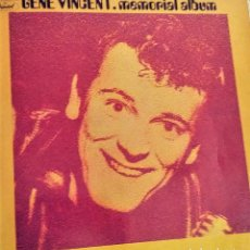 Discos de vinilo: GENE VINCENT - MEMORIAL ALBUM. DOBLE LP . Lote 178665647