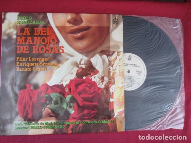 Discos de vinilo: PABLO SOROZABAL - LA DEL MANOJO DE FLORES - Foto 2 - 178669376