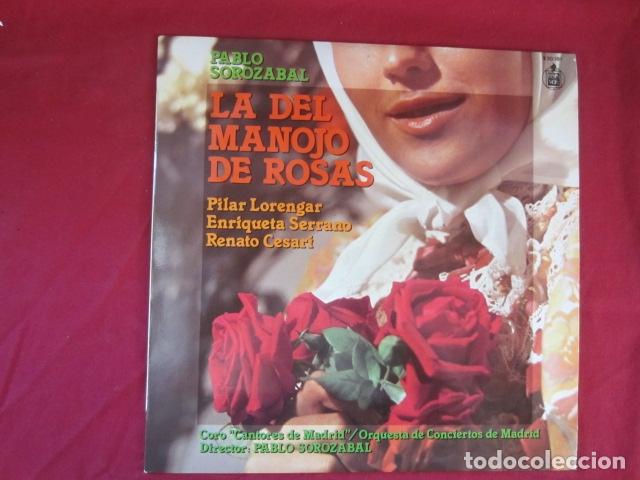 PABLO SOROZABAL - LA DEL MANOJO DE FLORES (Música - Discos - Singles Vinilo - Clásica, Ópera, Zarzuela y Marchas)
