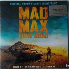 Discos de vinilo: MAD MAX: FURY ROAD (2015) 2 LP-T. HOLKENBORG & JUNKIE XL (NUEVA Y PRECINTADA). Lote 178671258