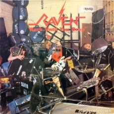 Discos de vinilo: RAVEN - ROCK UNTIL YOU DROP - VICTORIA ‎- VLP-183 F - ESPAÑA - 1986 - HEAVY METAL. Lote 178676085