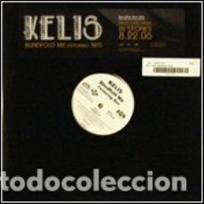 Dischi in vinile: KELIS FEAT NAS - BLINDFOLD ME (4 VERSIONES) - LAFACE RECORDS 88697-01229-1 - 2006 - USA - PROMO. Lote 178676610