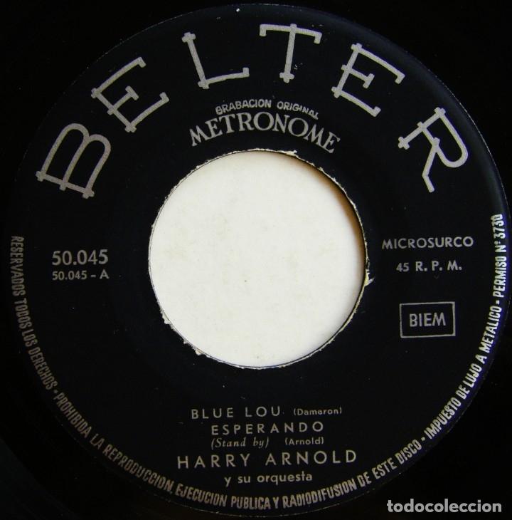 Discos de vinilo: Harry Arnold Y Su Orquesta-Bailando Con La Orquesta De Harry Arnold, Belter 50.045 - Foto 4 - 178685402