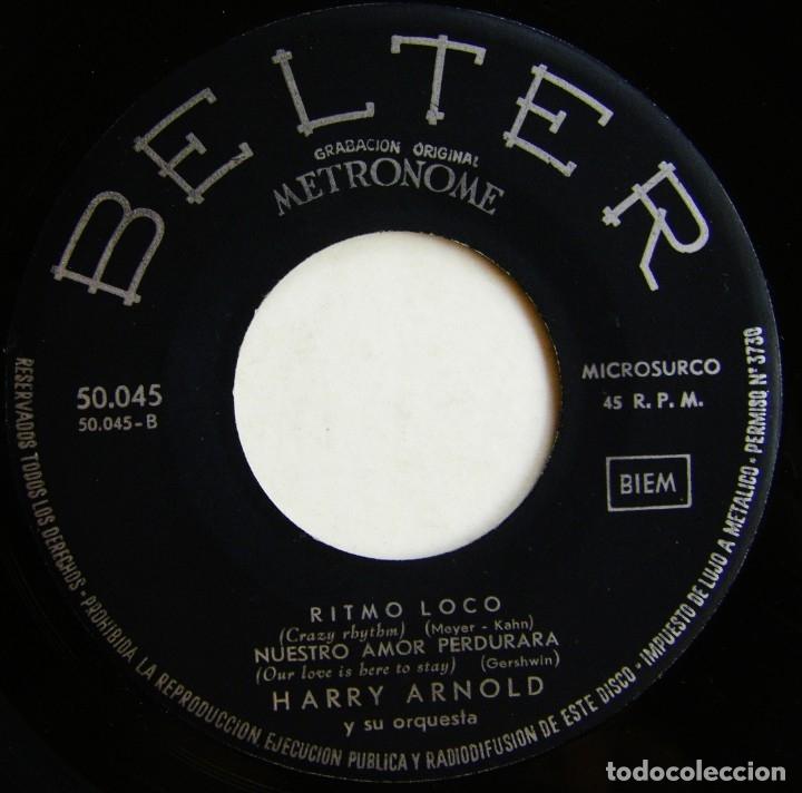 Discos de vinilo: Harry Arnold Y Su Orquesta-Bailando Con La Orquesta De Harry Arnold, Belter 50.045 - Foto 6 - 178685402