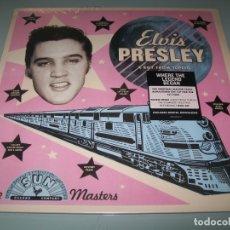 Discos de vinilo: ELVIS PRESLEY - A BOY FROM TUPELO - EHWRE THE LEGEND BEGAN - - THE SUN MASTERS - PRECINTADO. Lote 178689180