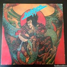 Discos de vinilo: DOKKEN BREAST FROM THE EAST LP DOBLE. Lote 178689266