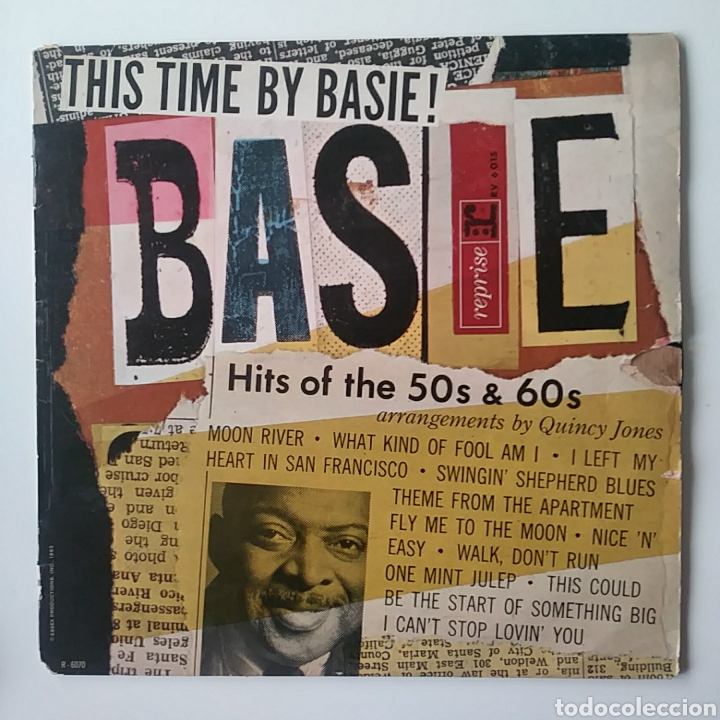 COUNT BASIE: THIS TIME BY BASIE.HITS OF 50S& 60S. (Música - Discos - LP Vinilo - Jazz, Jazz-Rock, Blues y R&B)