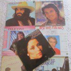 Discos de vinilo: LOTE 7 DISCOS LPS: DEMIS ROUSSOS, JAIRO, JOSÉ FELICIANO, JOSÉ LUIS PERALES, JUAN PARDO, JOAN MANUEL . Lote 178690478