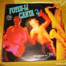 Discos de vinilo: FOTEU-LI CANYA 2. PICAP, 1992. 3 LP´S . IMPECABLES (#). Lote 178710408