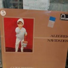 Discos de vinilo: ALEGRES NAVIDADES 5 FONTANA CHIQUITIN. Lote 178710667
