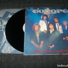 Discos de vinilo: EUROPE - THE FINAL COUNTDOWN - LP DE 1986 - EPIC - CON LETRAS. Lote 178711541