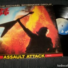 Discos de vinilo: THE MICHAEL SCHENKER GROUP ASSAULT - GRAHAM BONNET - LP DE CHRYSALIS 1982 SPAIN .MUY BUEN ESTADO. Lote 178711998