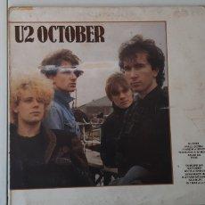 Discos de vinilo: LP. U2. OCTUBER. ISLAND. (UK). Lote 178712237