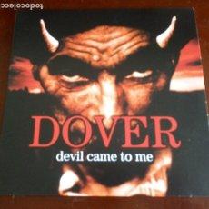 Discos de vinilo: DOVER - DEVIL GAME TO ME - LP - VINILO COLOR ROJO - CON ENCARTE. Lote 270225203