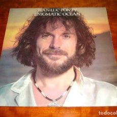 Discos de vinilo: JEAN-LUC PONTY ENIGMATIC OCEAN (ATLANTIC HATS 421-265 - ESPAÑA 1977) JAZZ FUSION LP. Lote 178714777