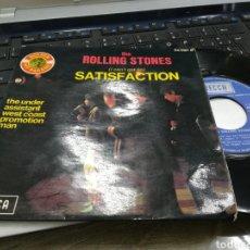 Discos de vinilo: ROLLING STONES SINGLE SATISFACTION FRANCIA 1965. Lote 178721643
