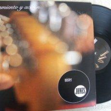 Discos de vinilo: MISTER JONES -PENSAMIENTO Y ACCION -LP BUEN ESTADO. Lote 178727442