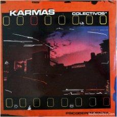 Discos de vinilo: KARMAS COLECTIVOS – PSICODEPENDENCIA - MAXI SPAIN 1986 - DRO 2D-177. Lote 178730555