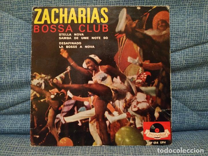 ZACHARIAS BOSSA CLUB - STELLA NOVA / SAMBA DE UME NOTE SO / DESAFINADO / LA BOSSE A NOVA AÑO 1963 (Música - Discos de Vinilo - EPs - Otros estilos)