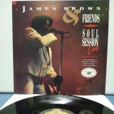 Discos de vinilo: JAMES BROWN - SOUL SESSIONS 1987 ED ALEMANA CON INSERTO. Lote 178744526