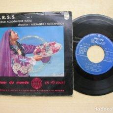 Discos de vinilo: U.R.S.S - CHOEUR ACADEMIQUE RUSSE VOL,1. Lote 178746693