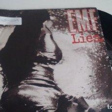 Disques de vinyle: SINGLE ( VINILO) DE EMF AÑOS 90. Lote 178746890