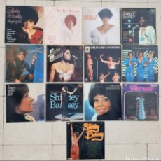 Discos de vinilo: LOTE 13 DISCOS VINILO LPS SHIRLEY BASSEY. Lote 178751732