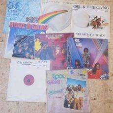 Discos de vinilo: LOTE 8 MAXI SINGLES KOOL&THE GANG. Lote 178755281