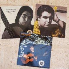 Discos de vinilo: LOTE 3 LPS VINILOS MANZANITA. Lote 178757417